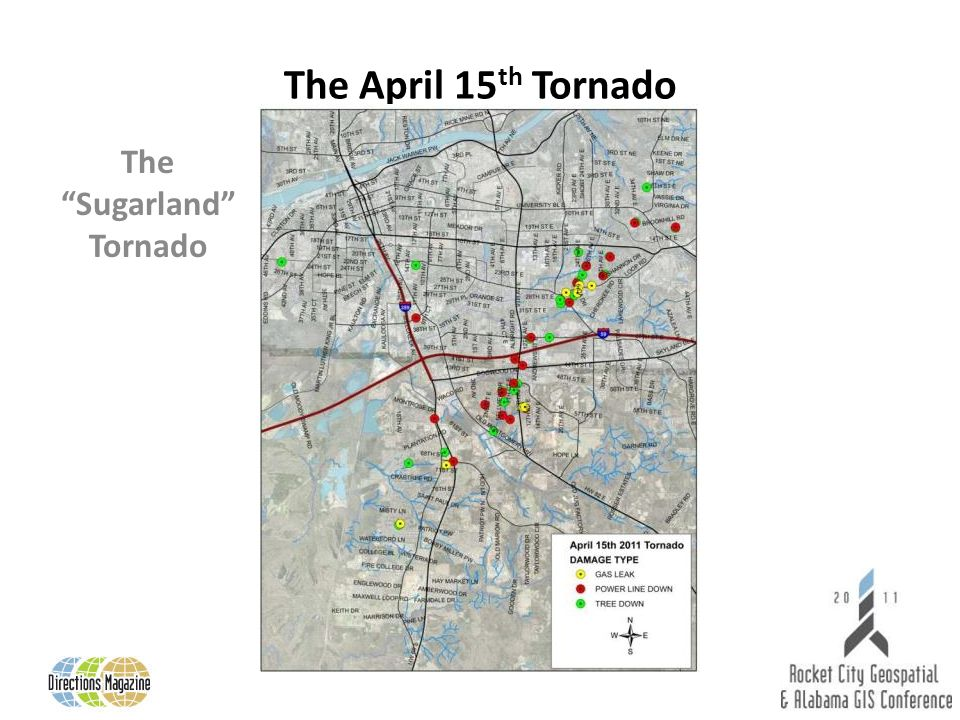 The April 15 th Tornado The Sugarland Tornado