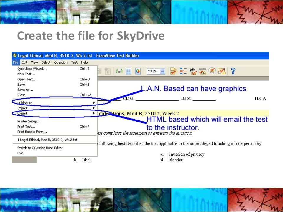 Create the file for SkyDrive