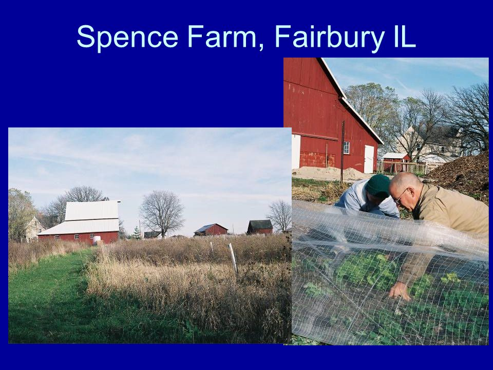 Spence Farm, Fairbury IL