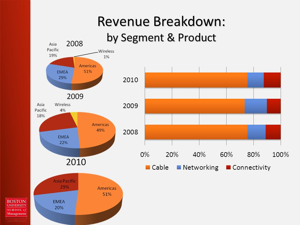 Revenue Breakdown: by Segment & Product