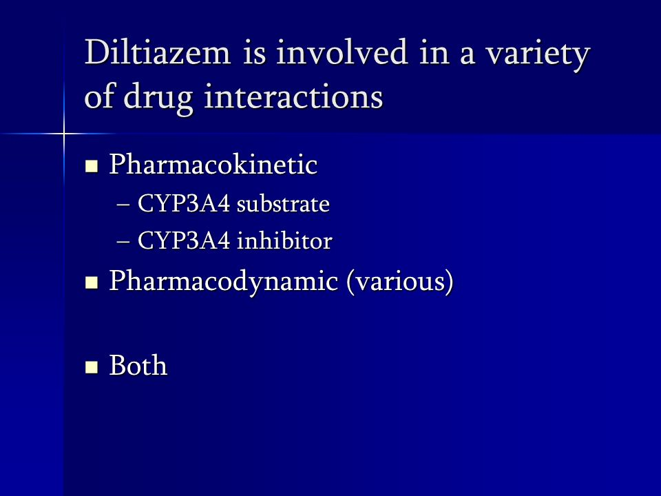 Diltiazem indications, contd. 3.