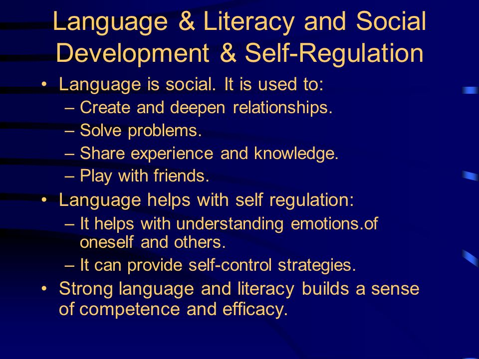 Supporting Language and Literacy in the Early Years David K.