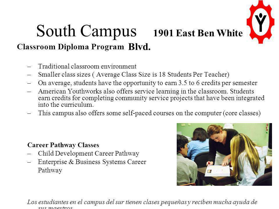 South Campus 1901 East Ben White Blvd.