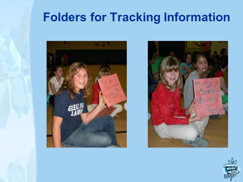 Folders for Tracking Information