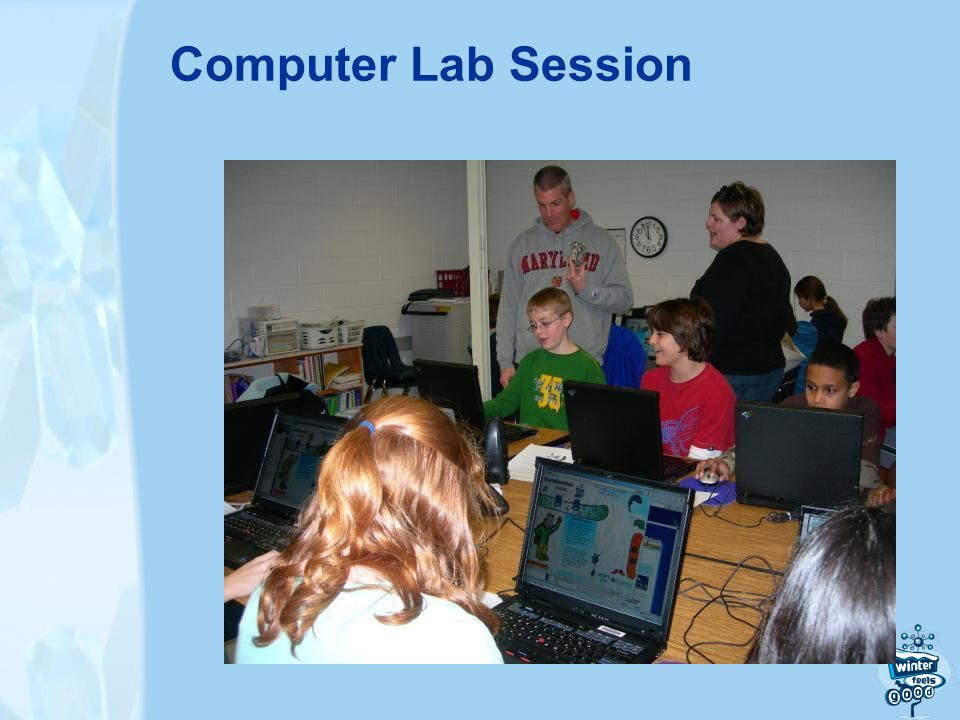 Computer Lab Session