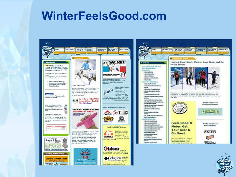 WinterFeelsGood.com
