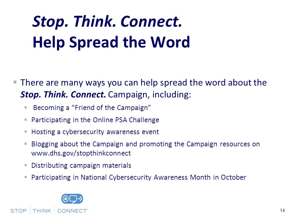 Presenters Name June 17, There are many ways you can help spread the word about the Stop.