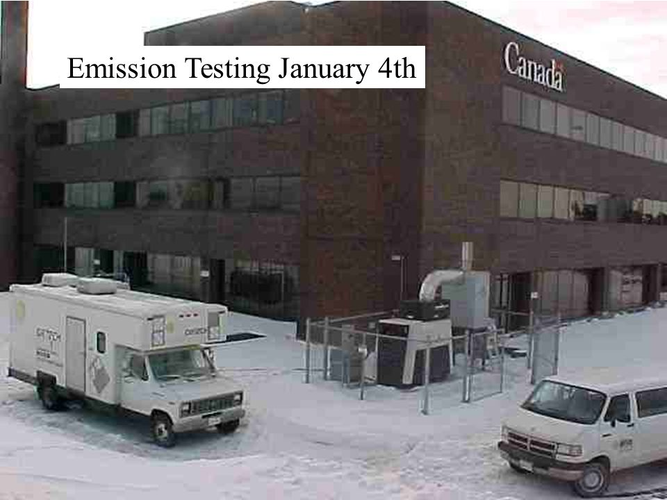 Emission Testing January 4th