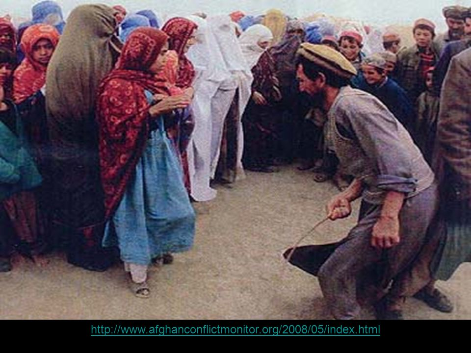 Women being whipped Your Subtopics Go Here http://www.afghanconflictmonitor.org/2008/05/index.html