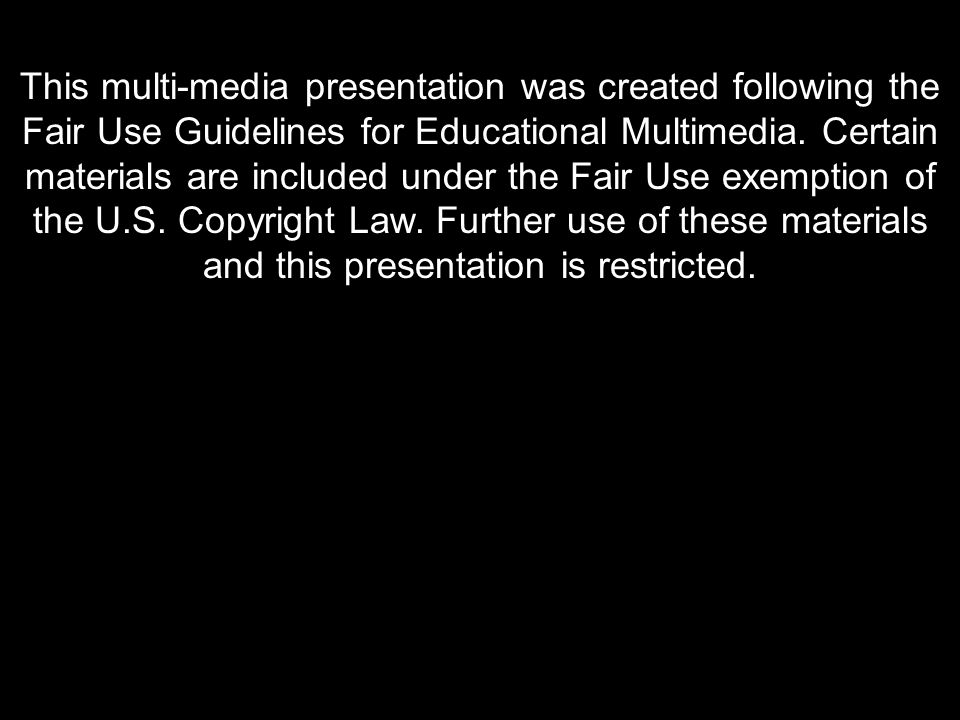 The Taliban today in Afghanistan This multi-media presentation was created following the Fair Use Guidelines for Educational Multimedia.