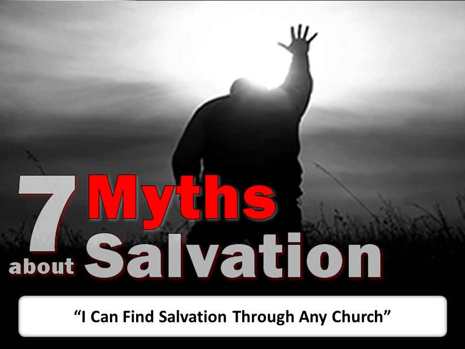 I Can Find Salvation Through Any Church