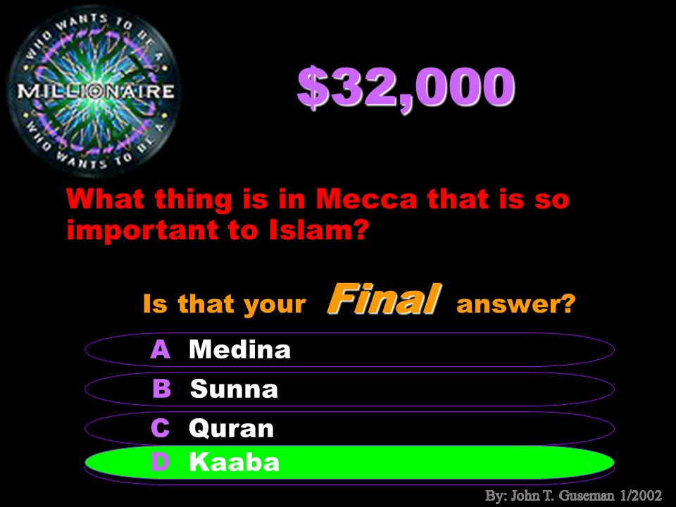 $16,000 What is the name of the famous Muslim city in Spain.