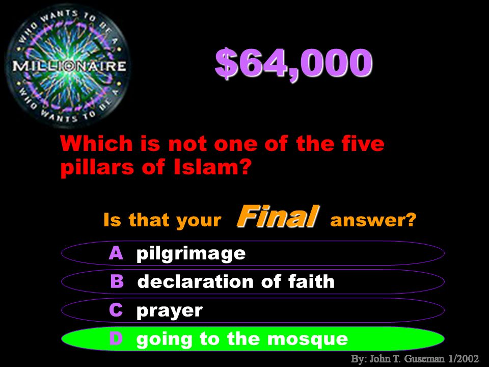 $32,000 What thing is in Mecca that is so important to Islam.