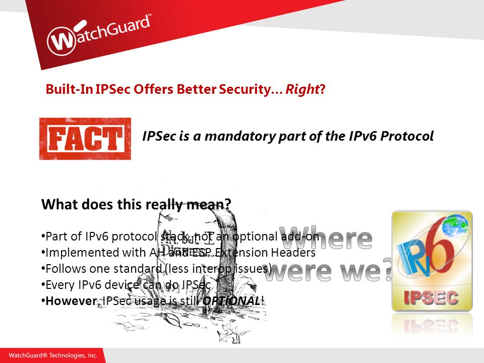 Built-In IPSec Offers Better Security… Right.