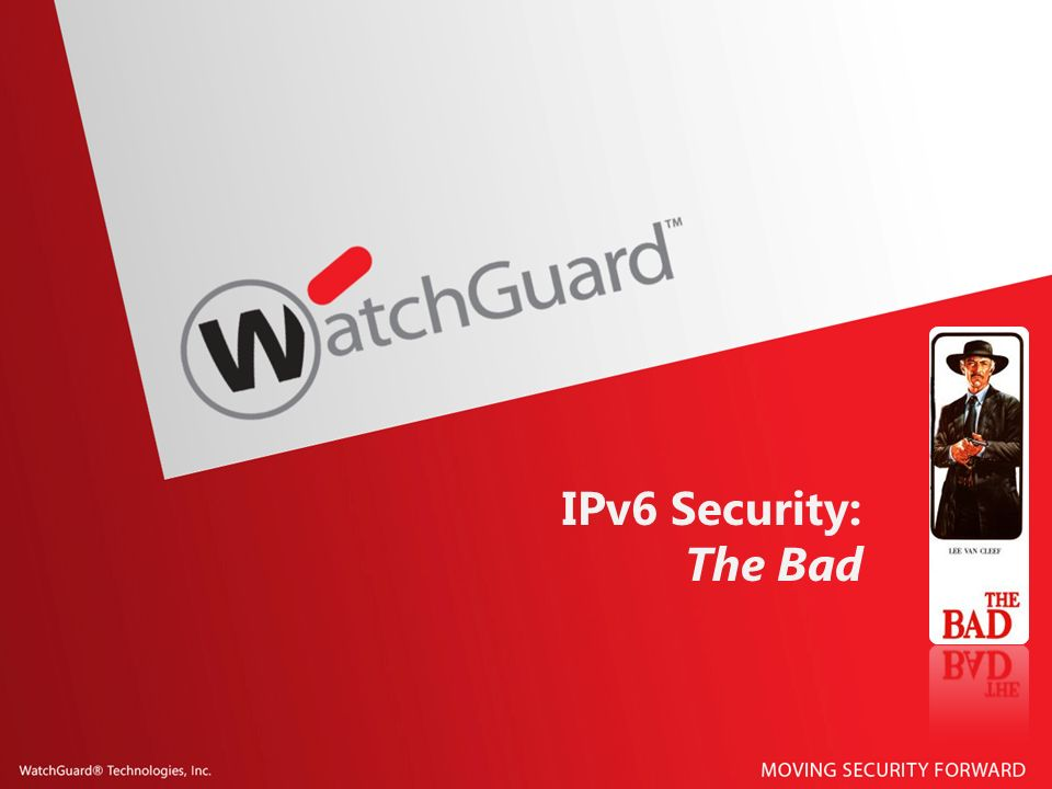 IPv6 Security: The Bad
