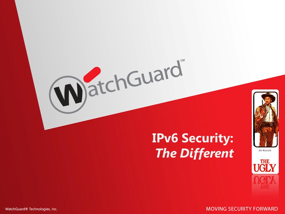 IPv6 Security: The Different