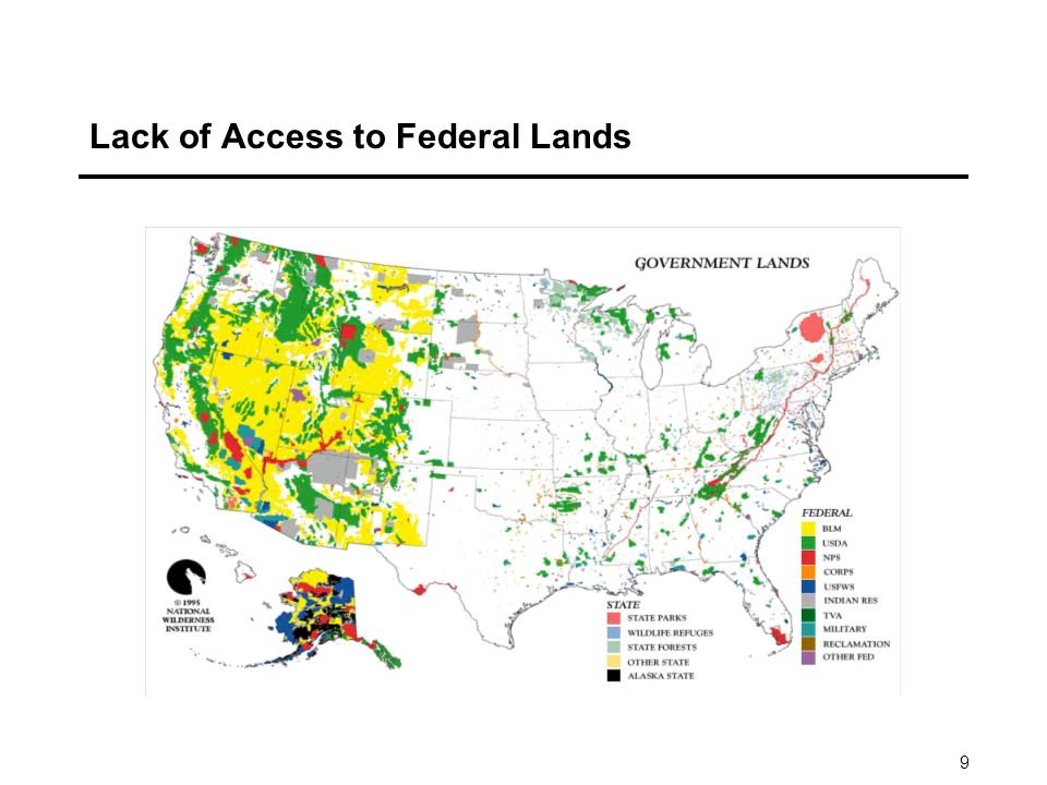 9 Lack of Access to Federal Lands