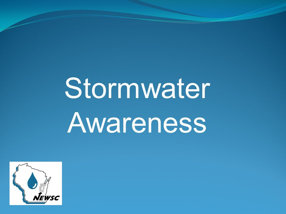 Stormwater Awareness