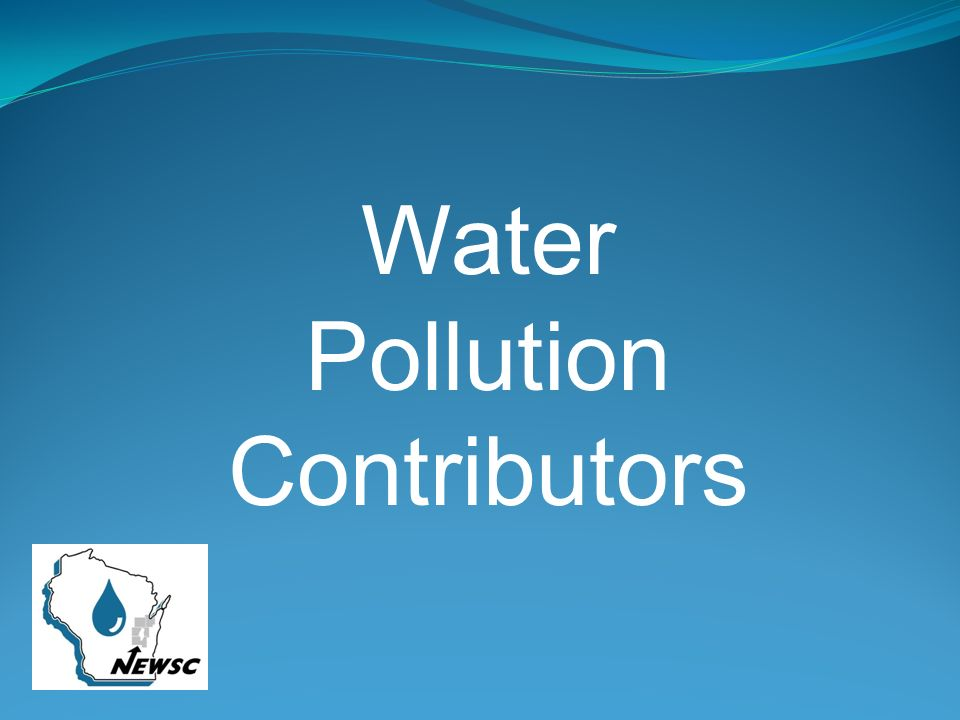 Water Pollution Contributors