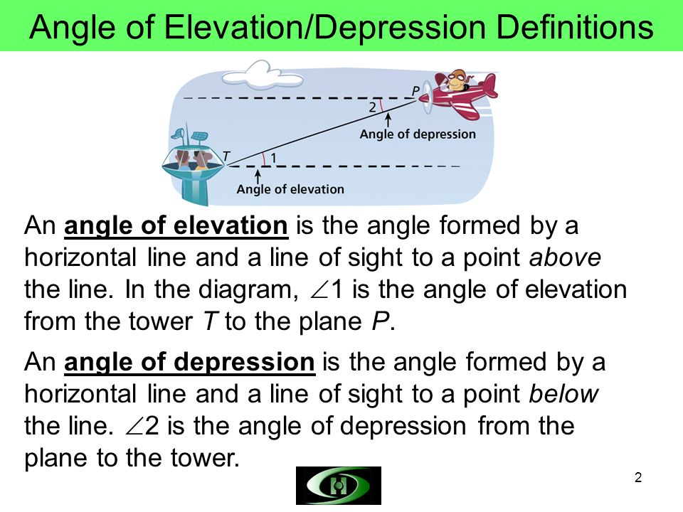 Angle Of Depression Worksheet Free Worksheets Library | Download ...