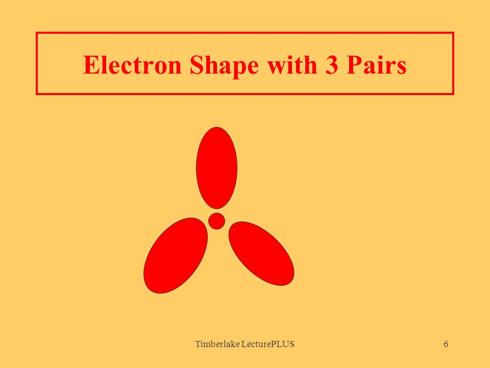 Timberlake LecturePLUS6 Electron Shape with 3 Pairs