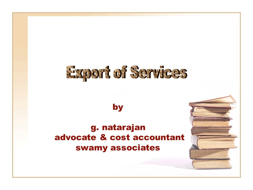 by g. natarajan advocate & cost accountant swamy associates