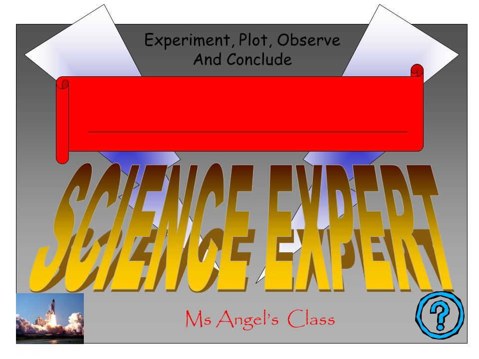 Ms Angels Class Experiment, Plot, Observe And Conclude