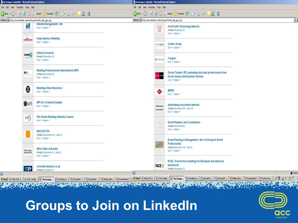 Groups to Join on LinkedIn