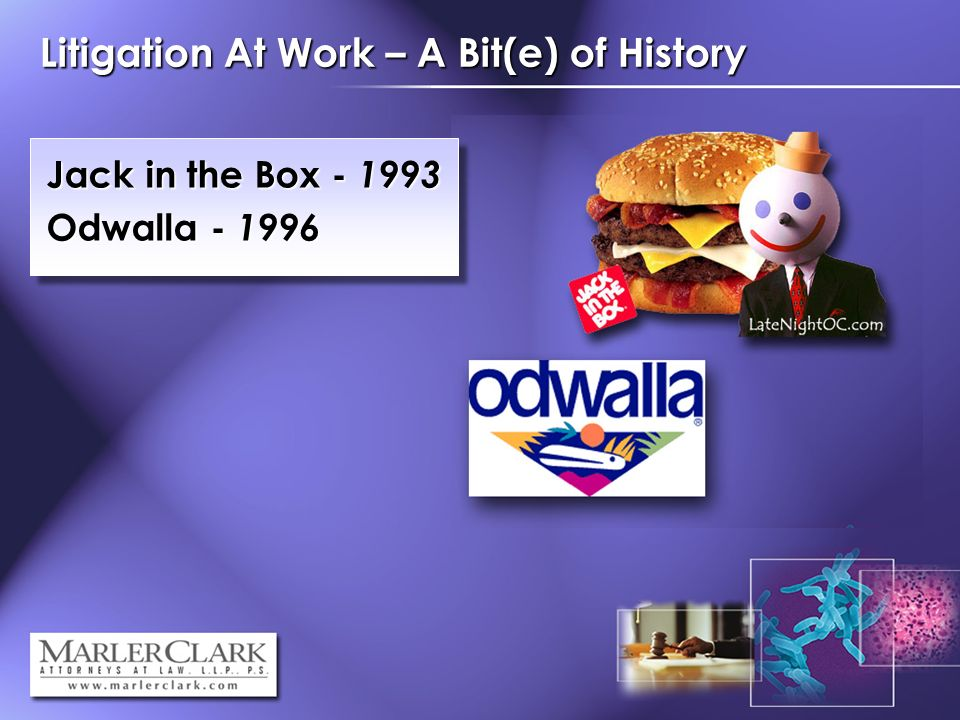 Litigation At Work – A Bit(e) of History Jack in the Box Odwalla