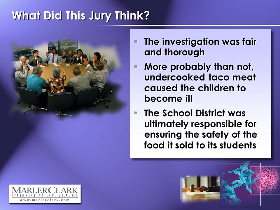 What Did This Jury Think.