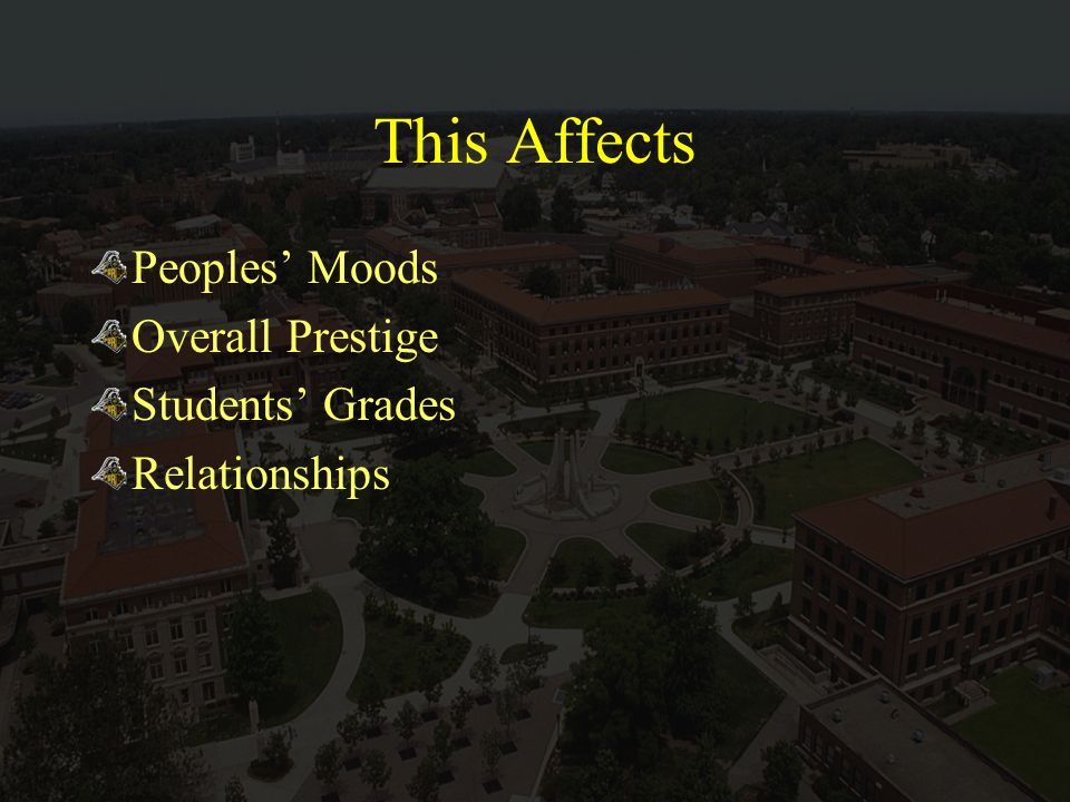 This Affects Peoples Moods Overall Prestige Students Grades Relationships