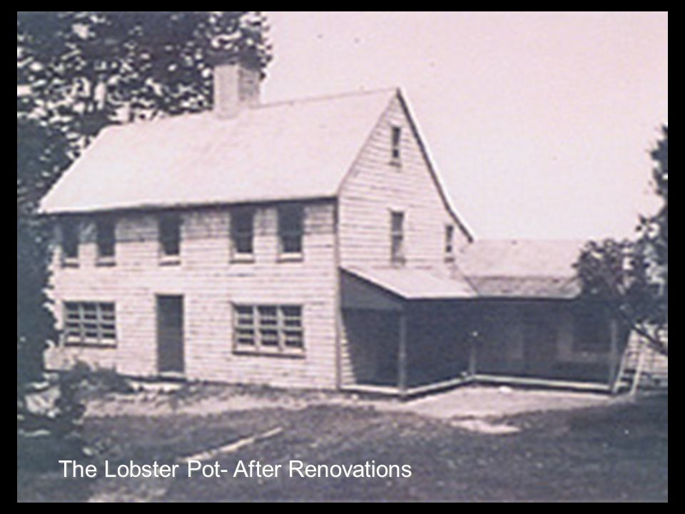 The Lobster Pot- After Renovations
