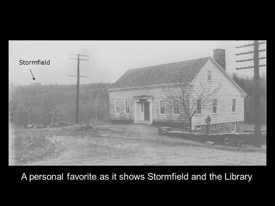 Stormfield A personal favorite as it shows Stormfield and the Library