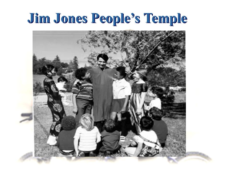 Jim Jones Peoples Temple