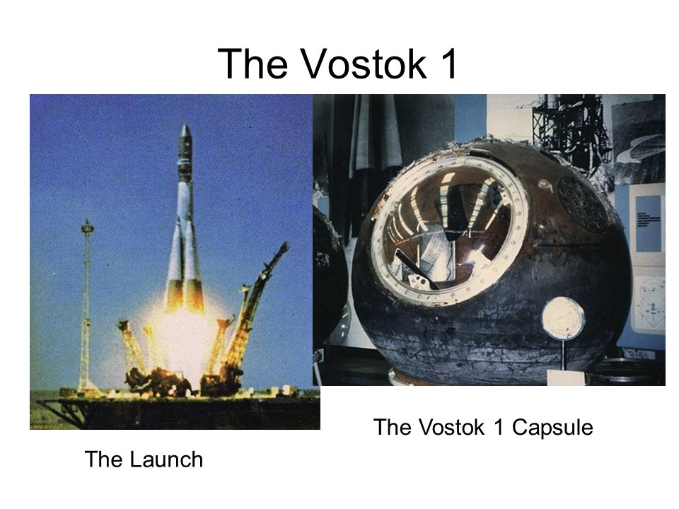 The Vostok 1 The Launch The Vostok 1 Capsule