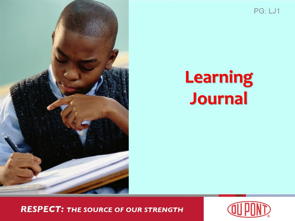 Learning Journal PG: LJ1