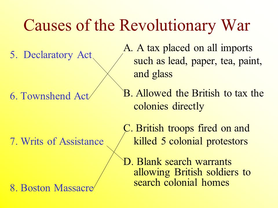 effects of the american revolution