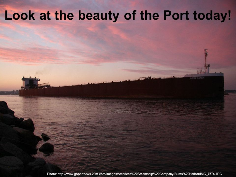 How does the port affect the economy.