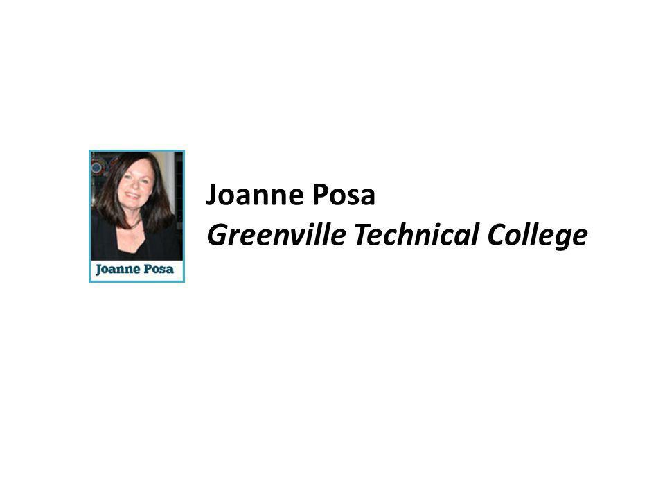Joanne Posa Greenville Technical College