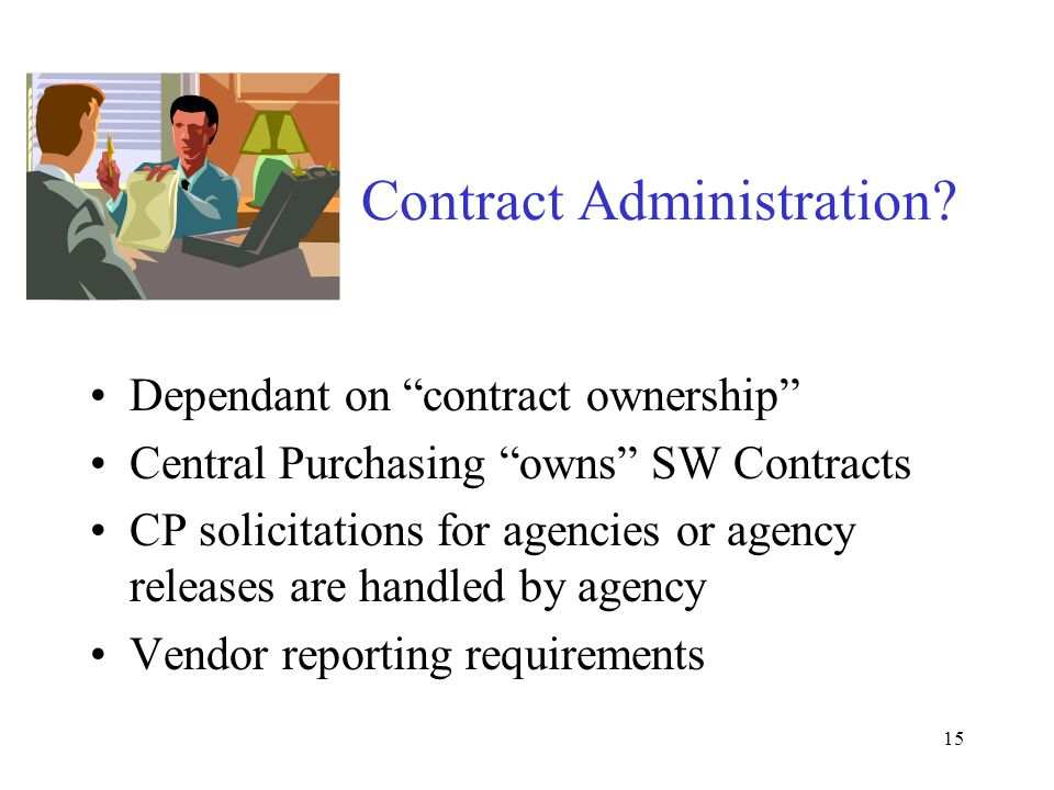 15 Contract Administration.