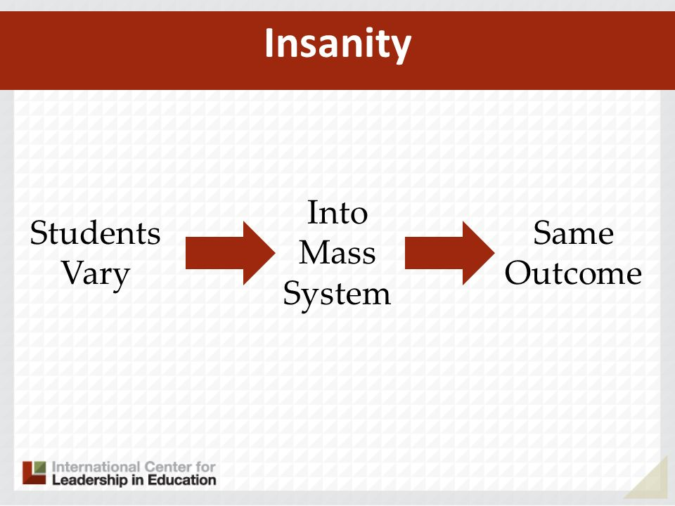 Insanity Students Vary Into Mass System Same Outcome