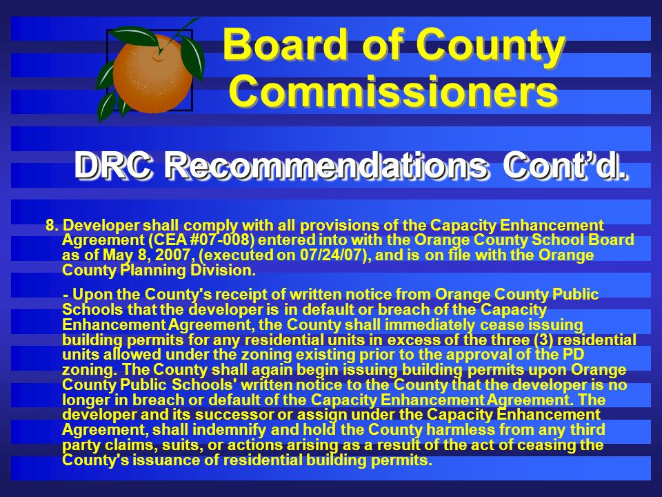 Board of County Commissioners 8.