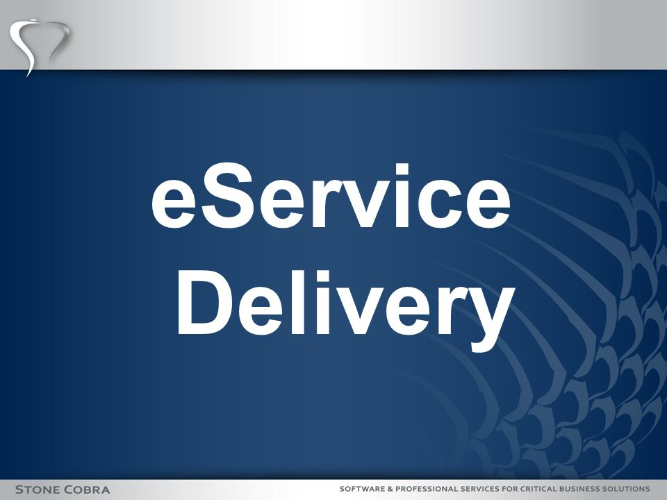 eService Delivery