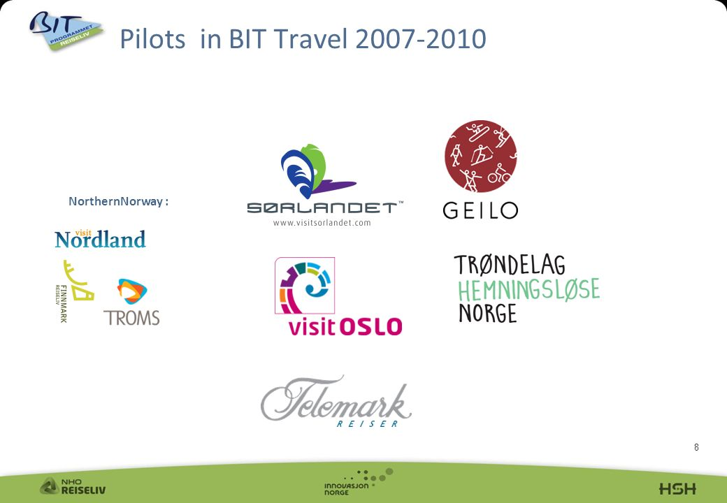 8 Pilots in BIT Travel NorthernNorway :