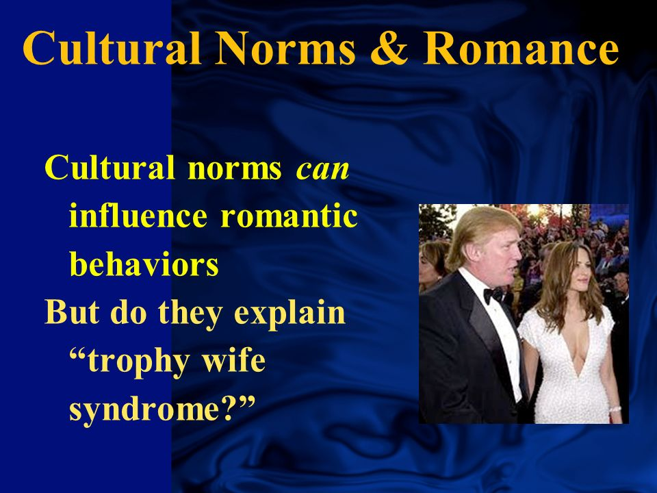 Cultural Norms & Romance Japanese - 1st kiss age 20 Americans - heavy petting @ 16 Aussie women want 4 sexual partners, Asian women less than 2