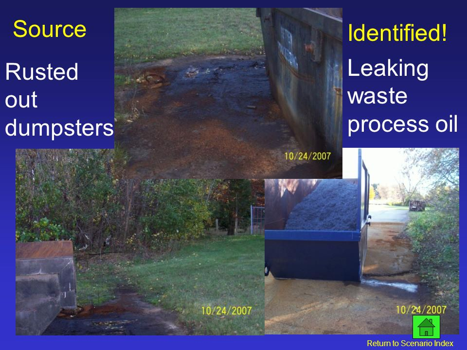 Bellwood Drainage Basin Outfall Source Investigation: Identify the drainage basin Follow storm sewer system Identify potential sources Click for next slide