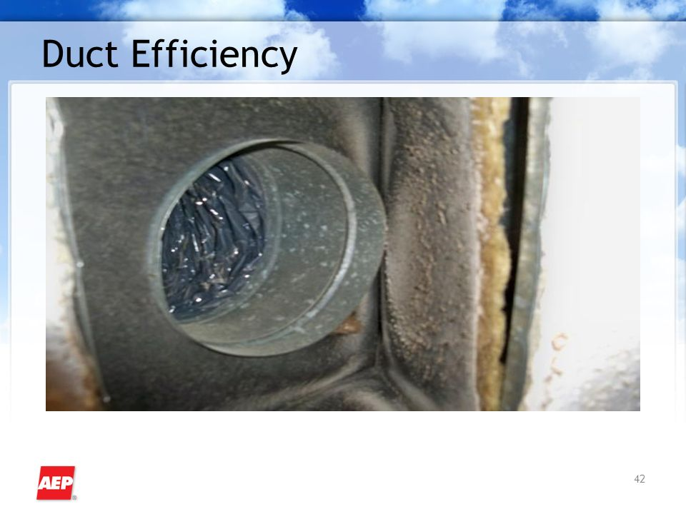 42 Duct Efficiency