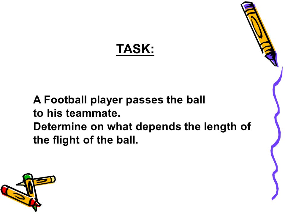 TASK: A Football player passes the ball to his teammate.