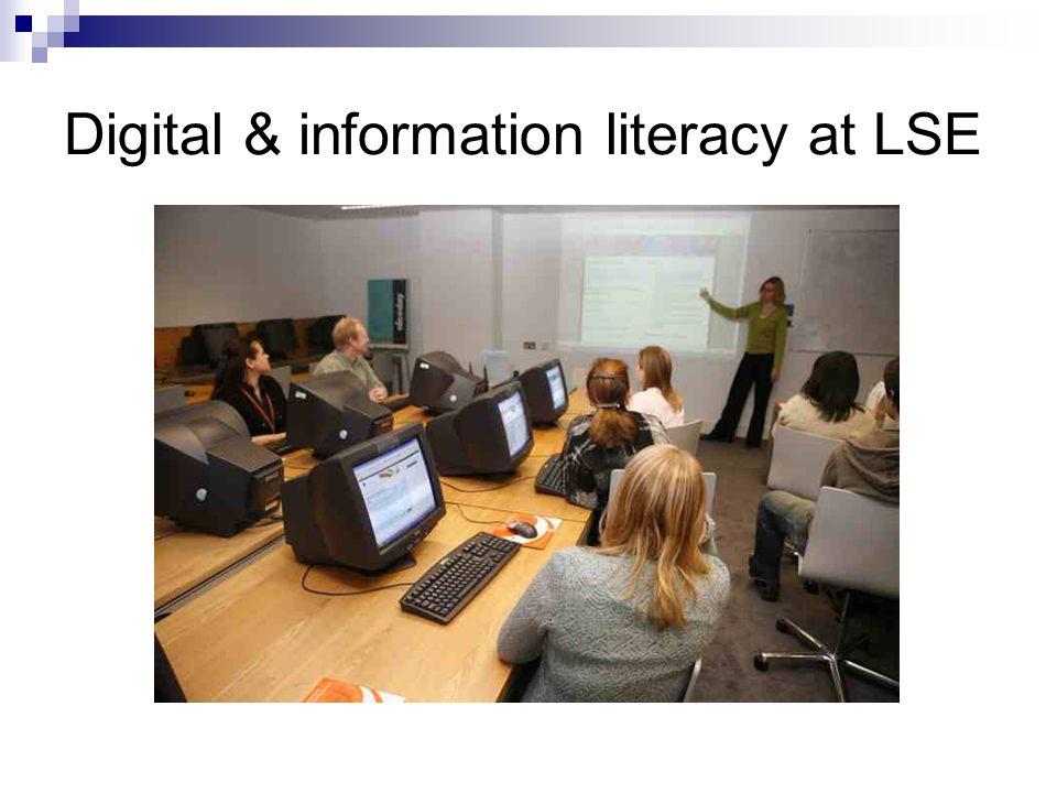 Digital & information literacy at LSE