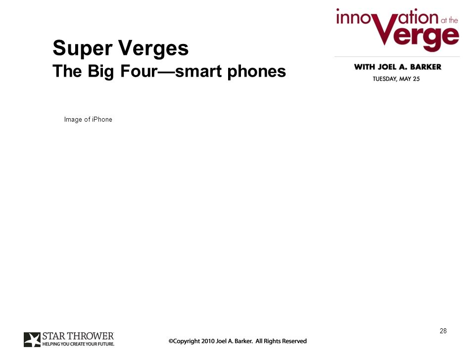Super Verges The Big Foursmart phones 28 Image of iPhone